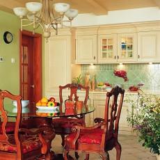 106平米三居餐厅东南亚装修图片欣赏