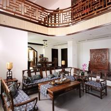 中式客厅沙发摆设效果图欣赏