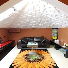 热门122平米混搭复式客厅装饰图片大全