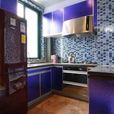 精选面积138平复式厨房混搭装饰图片