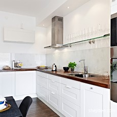 精美72平米现代小户型厨房效果图片大全