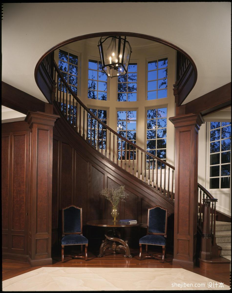室内装修楼梯效果图大全