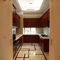 U型欧式厨房装修效果图欣赏