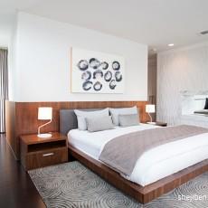 热门133平米现代复式卧室效果图片大全