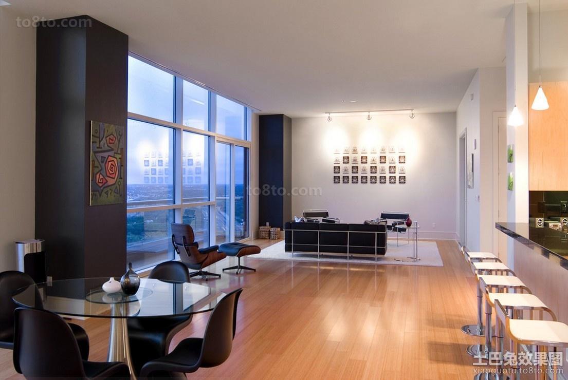 四室两厅房子装修 现代简约餐厅装修效果图