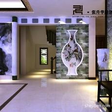 精美面积127平别墅客厅中式欣赏图片