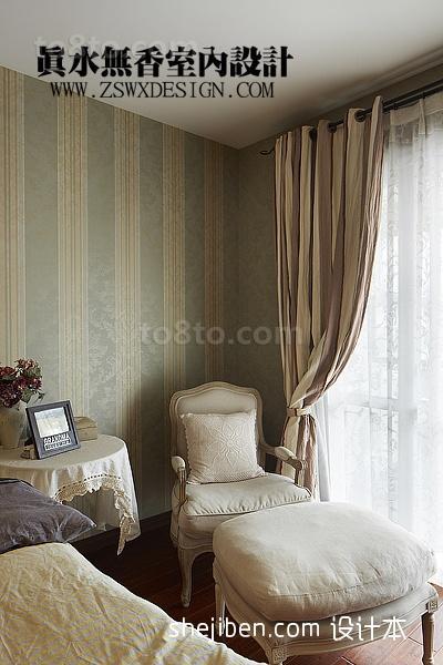 卧室窗帘效果图大全2013图片欣赏