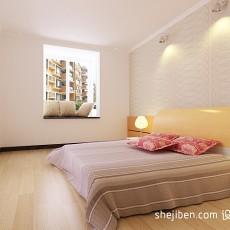 热门大小90平混搭三居卧室实景图片欣赏