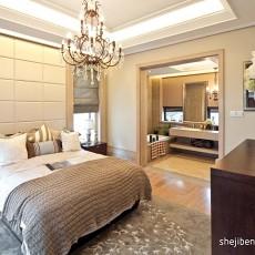 2018精选99平米三居卧室欧式效果图片大全