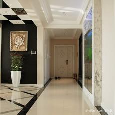 热门面积127平别墅客厅混搭效果图片