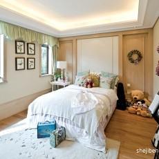 热门96平米三居卧室田园装修图片