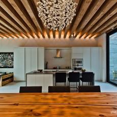 现代家居厨房餐厅吊顶效果图