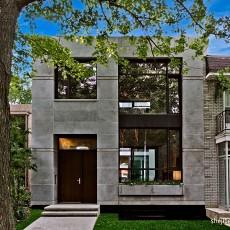 现代家居阳台装修效果图