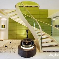 精美大小123平别墅客厅混搭装修设计效果图片大全