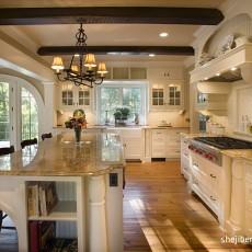 热门别墅厨房美式效果图片