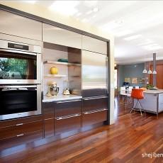 复式厨房现代装修图