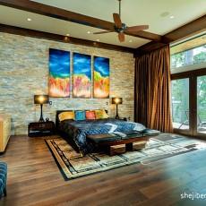 复式卧室现代装修设计效果图片