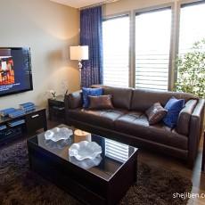 精美100平米三居客厅现代装修实景图