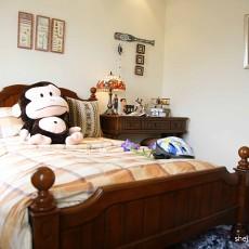 精选97平米三居卧室美式装修实景图片欣赏