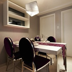 精美面积79平现代二居餐厅效果图