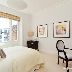 面积85平简约二居卧室装修实景图