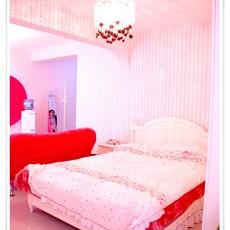 精美70平米混搭小户型卧室欣赏图片