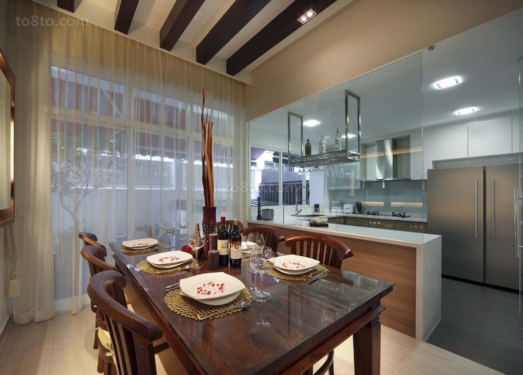 2012时尚家庭餐厅装修效果图