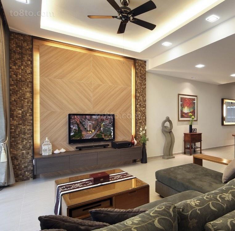 2012家居客厅电视背景墙装修效果图