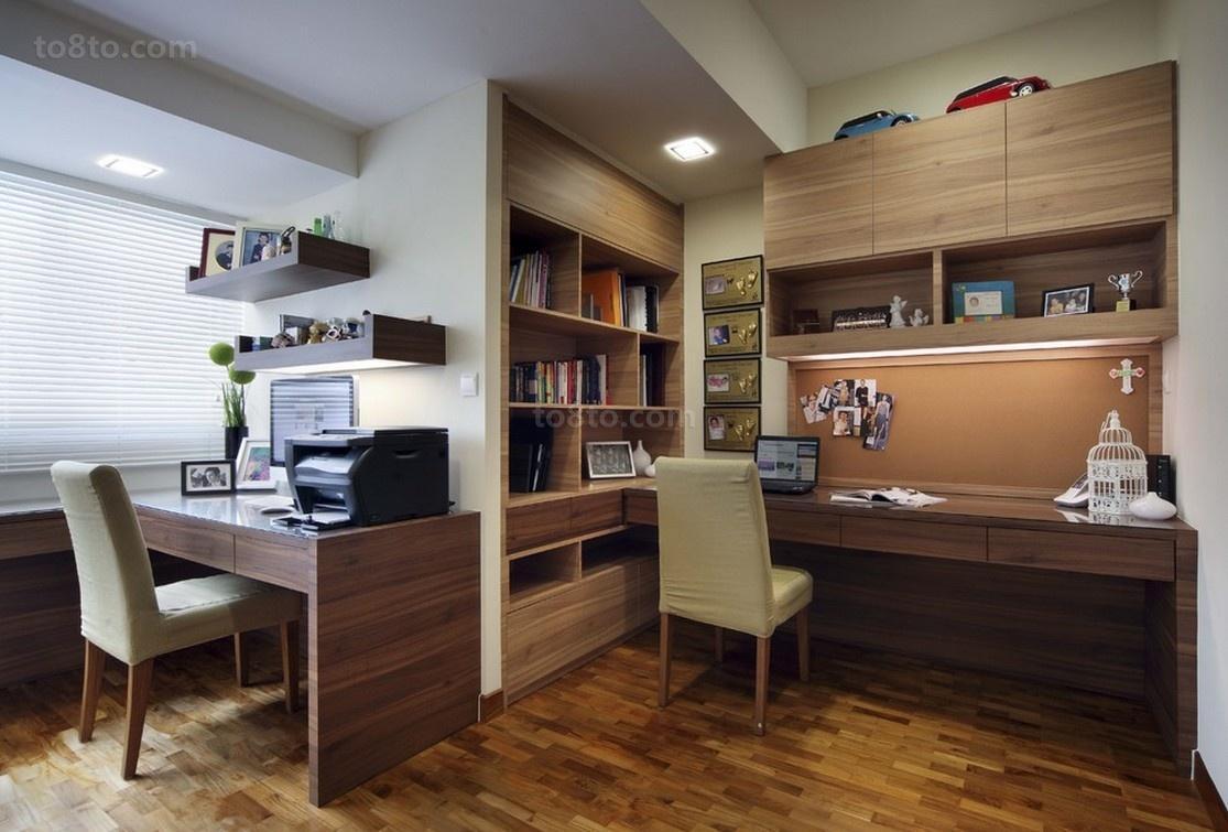 书房书柜装修效果图大全2012图