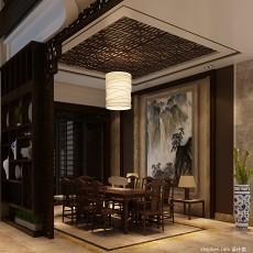 精美112平米混搭别墅客厅装饰图片欣赏