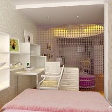 精选84平米混搭小户型卧室装饰图片欣赏