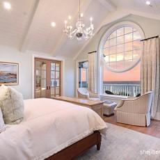 热门126平米欧式别墅卧室装修实景图片大全