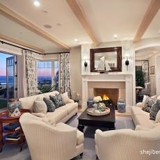 精美114平米欧式别墅客厅效果图片