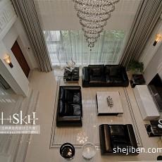 精选面积116平复式客厅现代欣赏图