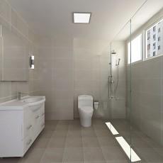 精美面积134平混搭四居卫生间装修图