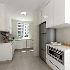 热门112平米四居厨房混搭实景图片欣赏