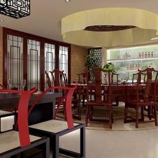 2018143平米四居餐厅混搭装饰图片欣赏