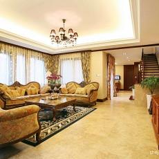热门面积131平复式客厅混搭装修图片欣赏