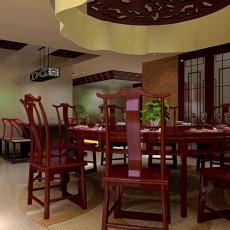 精美124平米四居餐厅混搭欣赏图片