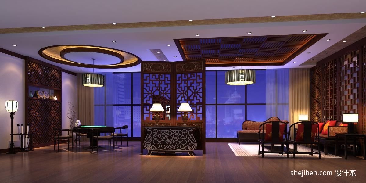 古朴中式家居餐厅装潢
