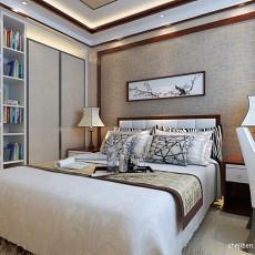 热门109平米3室混搭效果图片
