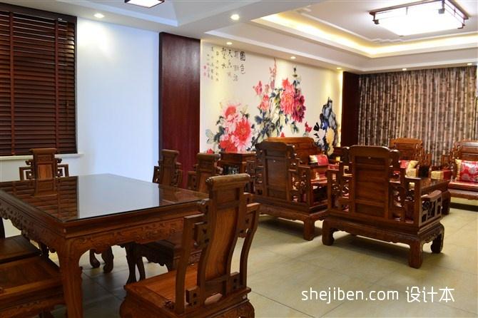 精美110平米混搭复式客厅实景图片大全