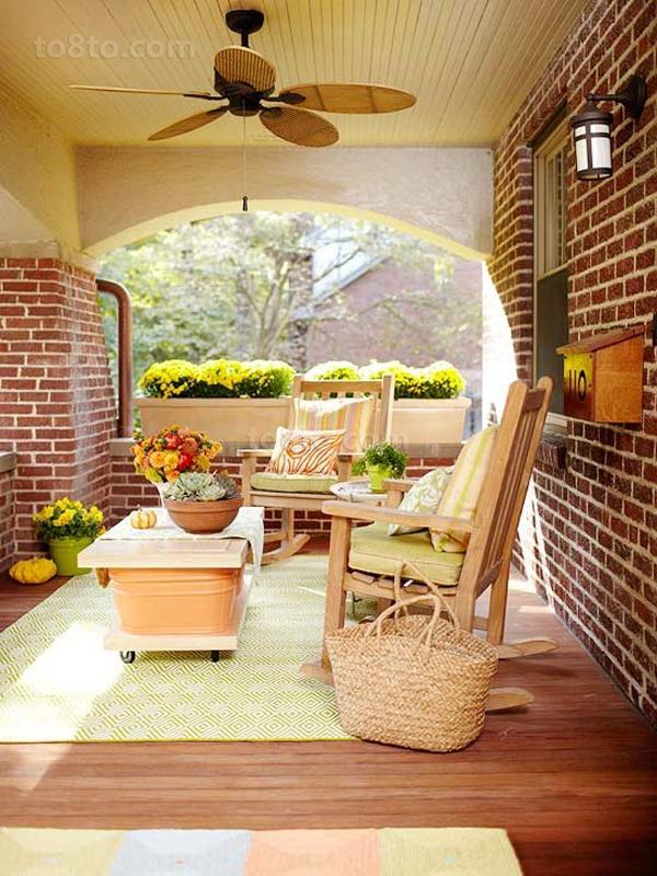 2013客厅阳台设计效果图片