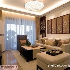 热门72平米二居客厅混搭欣赏图