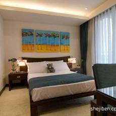 精美113平米四居卧室混搭装修效果图片欣赏