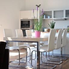 精美面积137平别墅餐厅现代装修设计效果图片