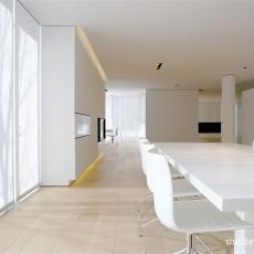 精美139平米四居餐厅现代实景图片欣赏