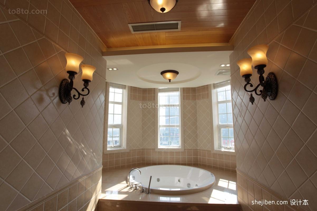卫生间装修效果图  卫浴装修图片设计