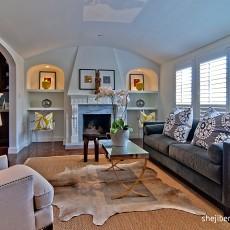 精选95平米三居客厅简约装修设计效果图片