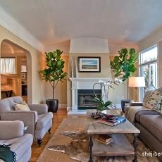 精选90平方三居客厅欧式装饰图片欣赏